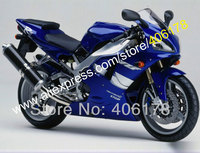 Hot Sales,Motorcycle part for YAMAHA YZFR1 1998 1999 fairing YZF R1 YZF R1 YZR1000 R1 98 99 Blue fairing (Injection molding)