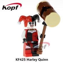 Blocos de construção Única Venda Esquadrão Suicida Harley Quinn Coringa Super Heroes Tijolos Figuras de Ação Brinquedos para crianças Modelo KF425