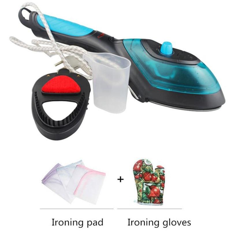 Tragbare Handheld Garment Steamer Für Home Reisen Elektrische Kleidung Dampf Pinsel Reinigung Dampf Eisen 220 V Teflon platte