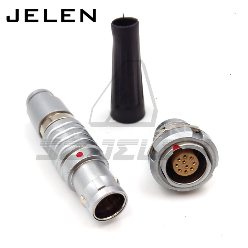 SZJELEN 10 pin FGG.1B.310.CLAD**Z ,ECG.1B.310. Alternative SZJELEN connector 10pin push pull industrial connector lemo connector 10pin plug fgg 1b 310 clad62z metal plug self locking connector 10pin plug lemo 1b fgg10 pin male