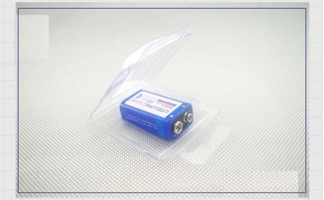 2 pcs / lot 9v SUPER BIG 880mAh li-ion lithium Rechargeable 9 Volt Battery Manufacturer's warranty FREE SHIPPING
