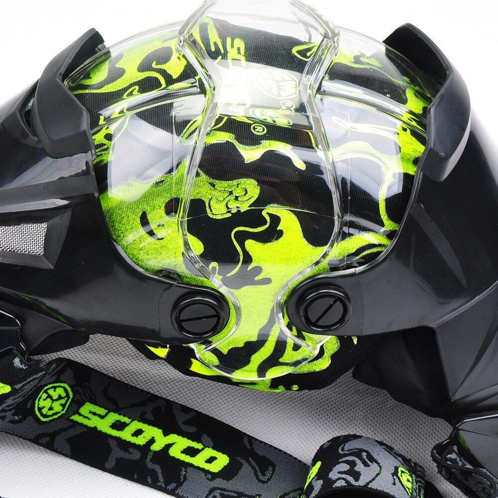 Moto scoyco Genou Protection Motocross garnitures de Protection Gardes Motosiklet Dizlik Moto Joelheira équipement de Protection Genouillères - 5