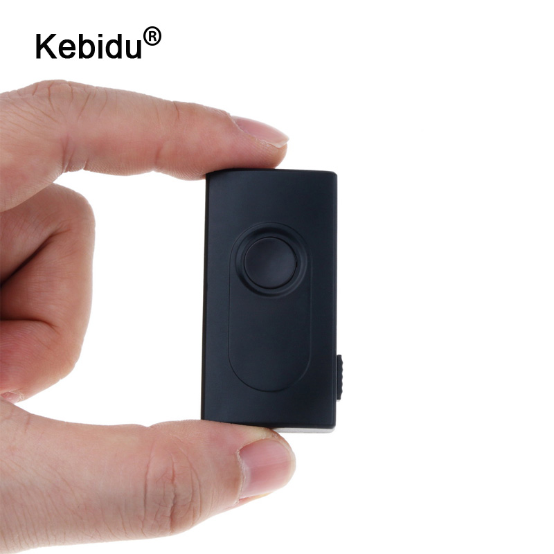 Kebidu-Adaptador de Audio y música estéreo 2 en 1, Bluetooth Transmisor receptor, inalámbrico, A2DP, 3,5mm, para TV, DVD, Mp3, PC, color negro