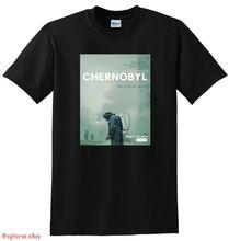 *NEW* CHERNOBYL T SHIRT tv show mini series poster tee SMALL MEDIUM LARGE New 2019 Fashion Mens T-Shirts