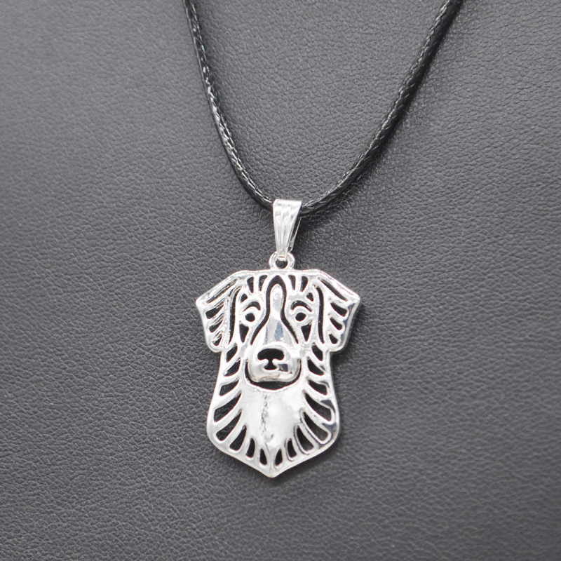 Jewelry & Accessories Pendant Necklaces Careful 2019 Fashion Jewelry Silver Alloy Dog Rope Chain Necklace Lovers Nova Scotia Duck Tolling Retriever Dog Necklaces Drop Shipping Firm In Structure