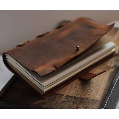 2015 Blank Diaries Journals notebook note book 22*15CM genuine leather 0050415 blank diaries journals notebook note book genuine leather