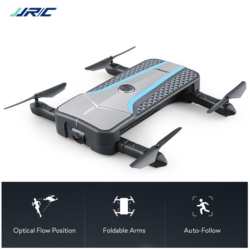 Auto-follow Selfie Drone With Camera 720p Drone Foldable Wifi Fpv Rc Drone Optical Positioning Rc Quadcopter Dron Toy Helicopter