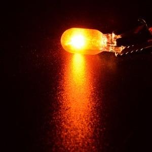 Image 3 - 10 Chiếc T10 168/W5W 12V 5W Hổ Phách Xe Đèn Halogen Bên Nêm Nhạc Cụ Đèn Giải Phóng Mặt Bằng Bóng Đèn chiếu Sáng Xe Hơi