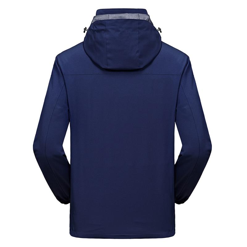 58bf08752c4 2 IN 1 Fit Jacket High Quality NIAN Brand Waterproof Windbreaker Jacket  Coat Winter Jacket Men Male Coat Rain Jacket Parka-in Jackets from Men s  Clothing on ...