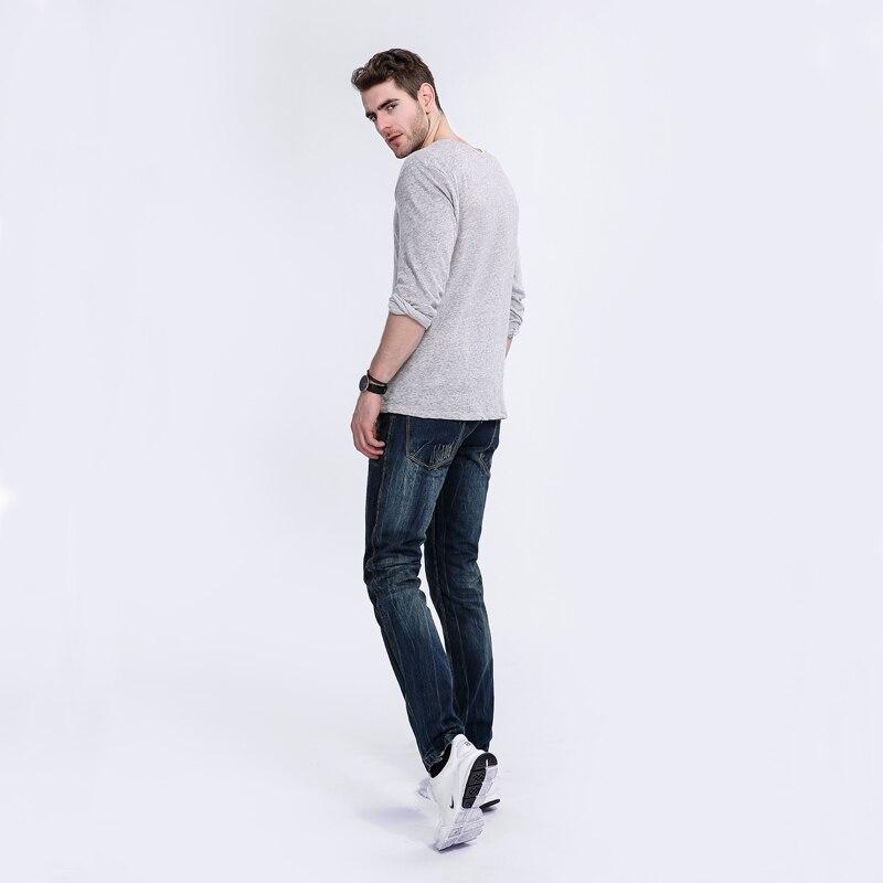 High Quality Men`s Jeans Dark Blue Print Denim Jeans Ripped Trousers Slim Straight Fit Original Brand Biker Jeans Men A5001 patch jeans ripped trousers male slim straight denim blue jeans men high quality famous brand men s jeans dsel plus size 5704