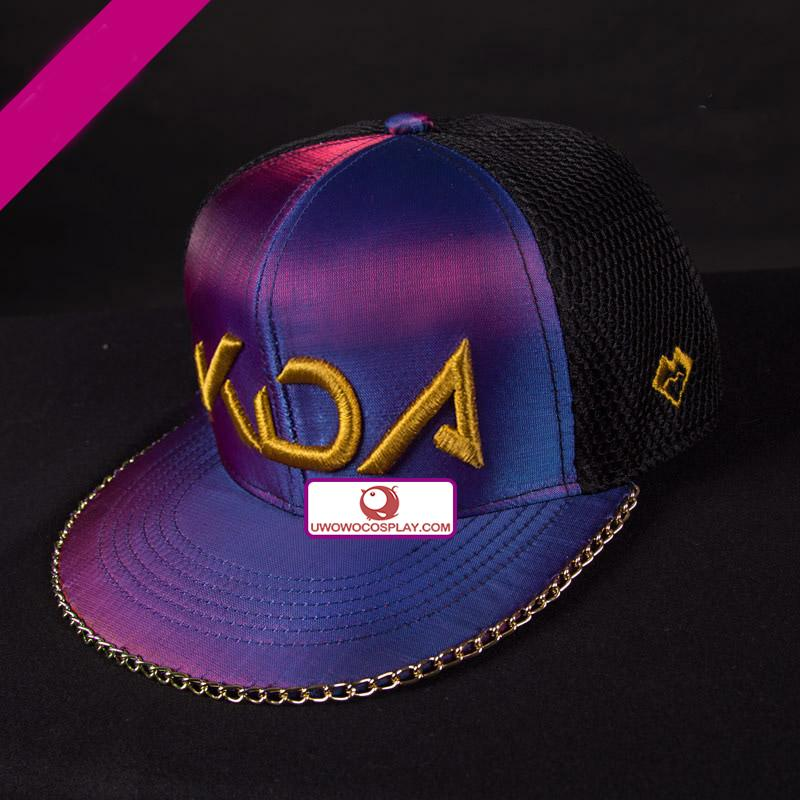 UWOWO PRE-SALE Game LOL Cosplay K/DA   Accessories Hat, Bag ,Dagger,Earphone
