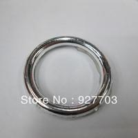 (CM750 36mm)100pcs Medium Round Acrylic Buckle For Wedding Invitation Card Chair Sash Ribbon Slider
