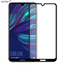 2PCS Screen Protector Huawei Enjoy 9 Glass Tempered Full Glue Coverage Film