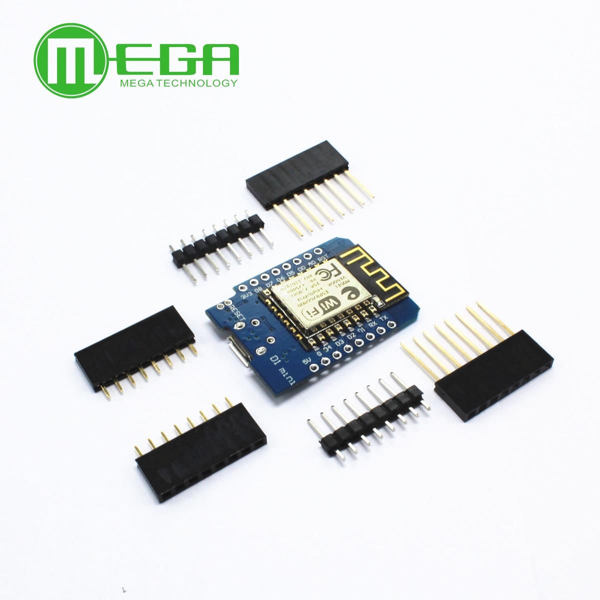 10pcs/LOT D1 mini - Mini NodeMcu 4M bytes Lua WIFI Internet of Things development board based ESP8266