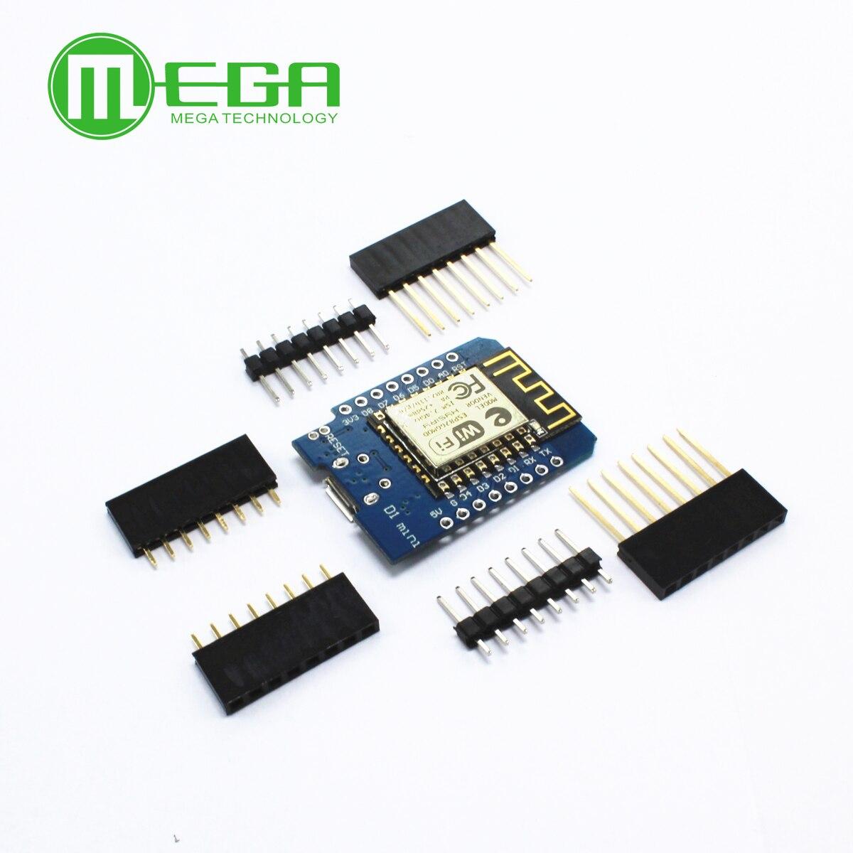 10 шт. D1 mini - Mini NodeMcu 4 м байты Lua WIFI Интернет вещей макетная плата на основе ESP8266