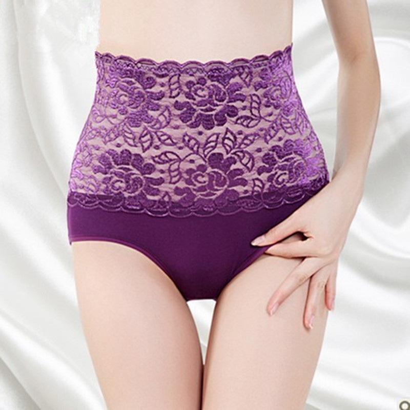 2016 Promotion String High Quality Womens Panties 5 Pieces Fashion For Lady Rise Lace Roses -3057