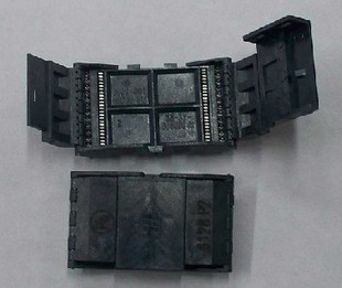 Free Shipping      The Imported IC Test Adapter To Write 980020-48-P2 Transposon Burn Patch TSOP48 And 56/40