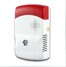 GAS-88 Wireless Gas Leakage Detector For GSM Phone SMS Wireless Security Burglar Home Alarm System Control CHUANGO G5 315/433MHZ