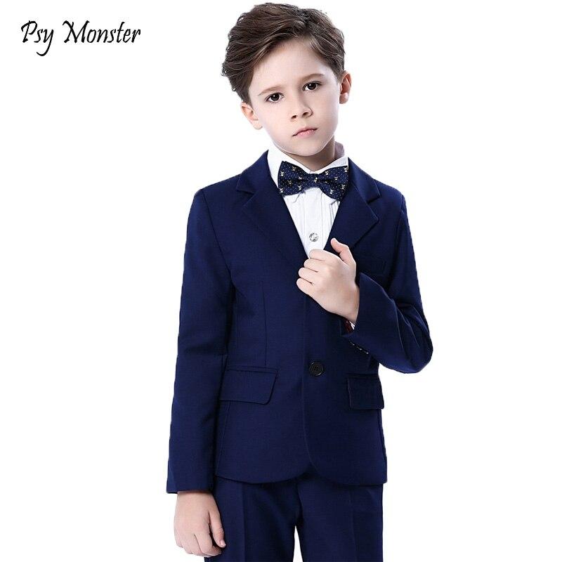Garçons blazers enfants garçons costumes pour mariages costumes de bal robe de mariée pour garçons enfants tuexdo enfants vêtements ensemble Blazers pour garçons