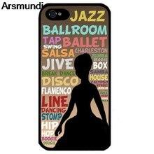 Arsmundi Ballo Silhouette Danza Phone Cases for iPhone 4S 5C 5S 6S 7 8 SE  Plus 66c19950af2d