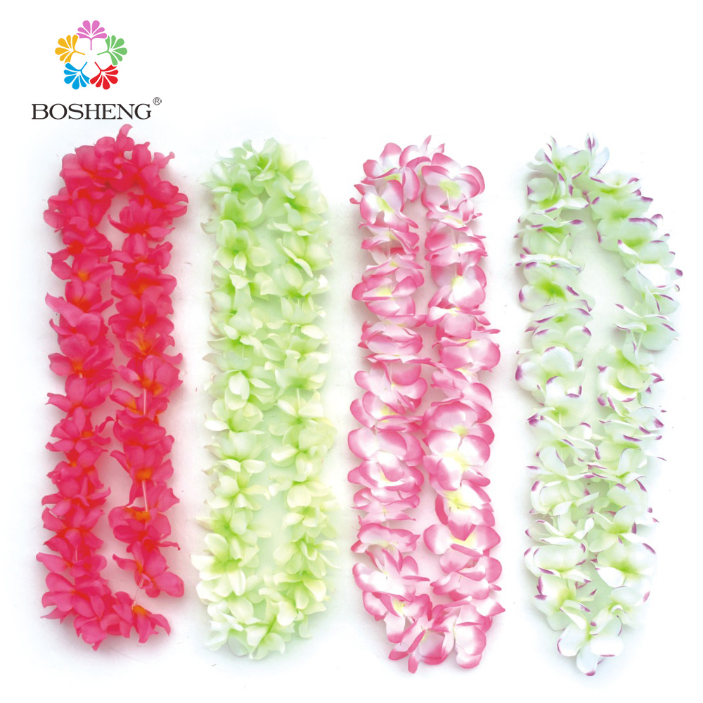 Compare prices on hawaiian graduation leis online shoppingbuy 30pcs party supplies hawaiian flower leiwreath christmas wreathchina dhlflorist Gallery