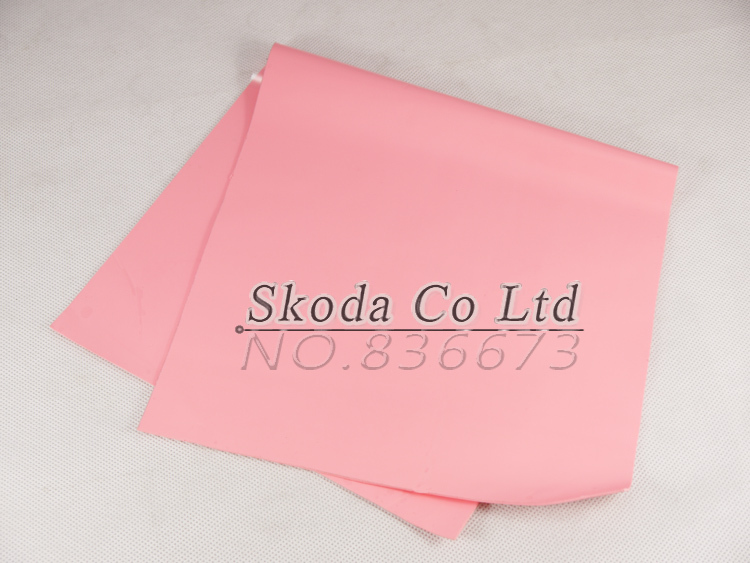 Free shipping GPU CPU Thermal Conductive Silicone Pad 400*200*0.5mm pink Thermal Pad for laptop North & South Chip 300x300x0 025mm high heat conducting graphite sheets flexible graphite paper thermal dissipation graphene for cpu gpu vga