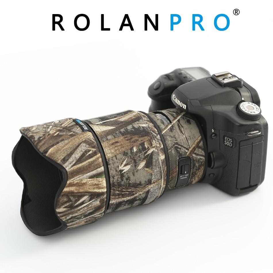 ROLANPRO Lens Camouflage Coat Rain Cover for Sigma 85mm F 1 4 DG ART Lens Protective