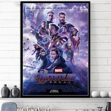 Home Decor Canvas Paintings Avengers Endgame Superheroes Movie Pictures Nordic Wall Art Printed Modular Poster For Living Room