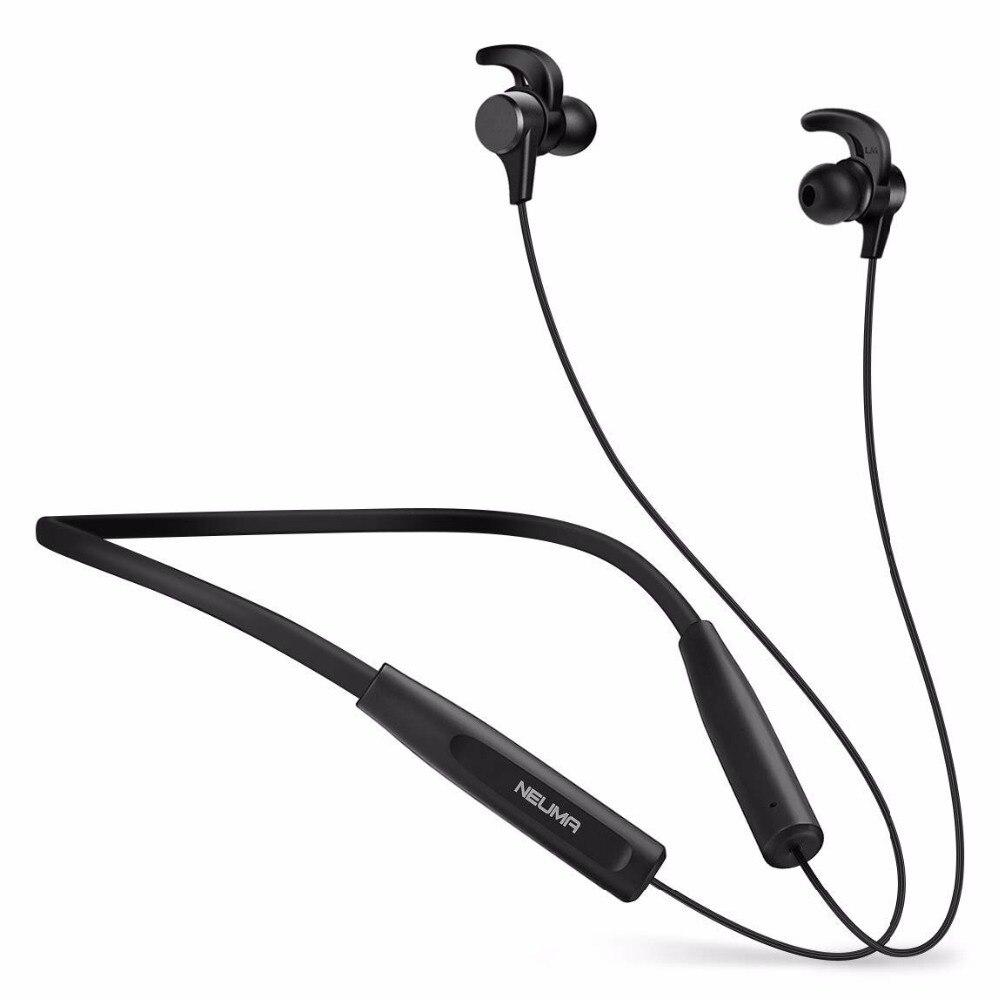 Auriculares Bluetooth en la oreja auriculares de cancelación de ruido auriculares de 12 horas de reproducción aptX Hi Fi estéreo auriculares inalámbricos impermeables-in Auriculares y cascos from Productos electrónicos    1