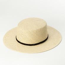 Sombrero fedora para mujer 2018 nueva moda verano sol sombrero de paja de  papel playa sombreros para mujer 681014 399eb6606ccf