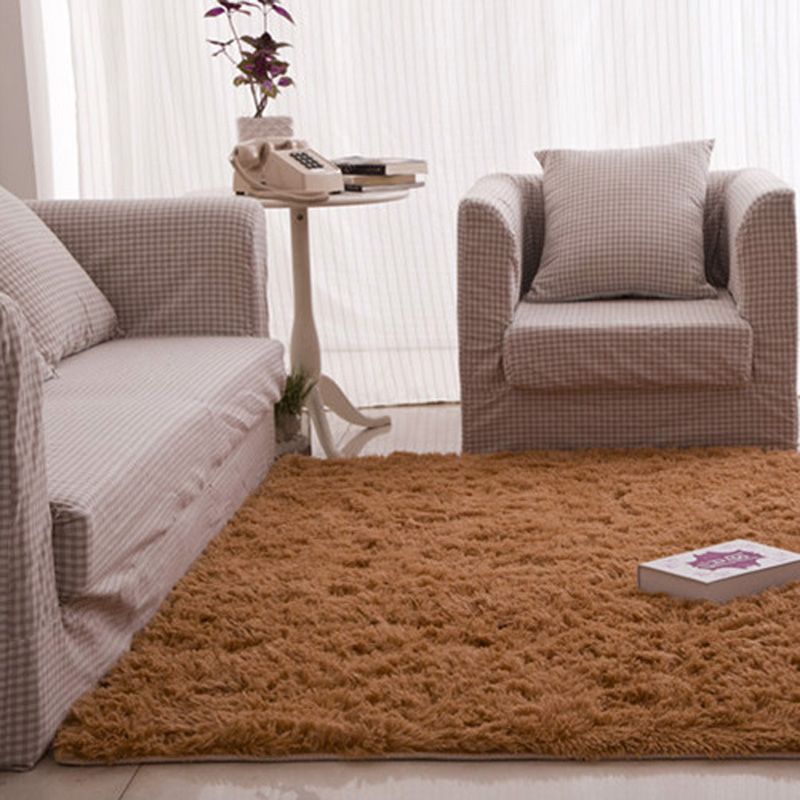 Fluffy Rugs Anti Skid Shaggy Area Dining Room Home Bedroom Carpet Floor Mat 60CM X 120CM In From Garden On Aliexpress
