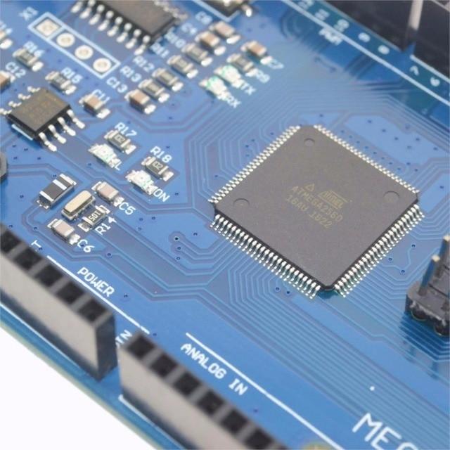 Mega 2560 R3 Mega2560 REV3 (ATmega2560-16AU CH340G) Board ON USB Cable compatible for arduino [No USB line] 2