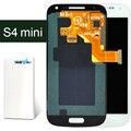 2 pcs display lcd para samsung s4 mini i9190 i9192 i9195 com montagem de toque digitador
