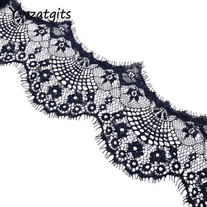 Image 3 - ywzatgits 14 colors  Flower Embroidered Garment lace  Trim Lace  DIY Sewing Dress  3Yards /Lot  YR0503