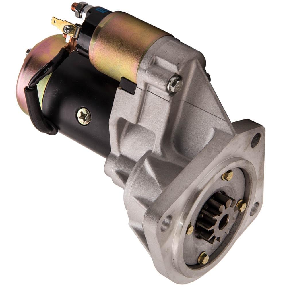Démarreur adapté pour Nissan patrouille GQ GU Y60 Y61 TD42 TD45 4.2L 4.5L TD Diesel 88-10