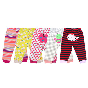 100% Cotton Baby's Pants with Cartoon Print 5