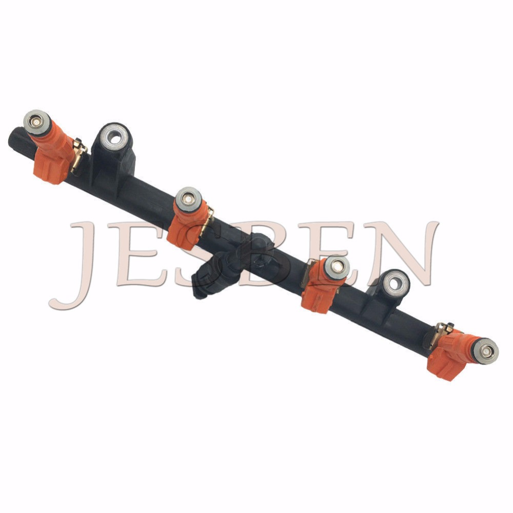 Fuel Rail 0280151048 Fuel Injectors 0280155769 For Alfa Romeo 145 146 147 156 166 GTV Spider 1 6 2 0 1994 2010 0 280 151 048 in Fuel Injector from Automobiles Motorcycles