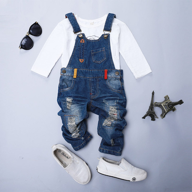 cherry sweet talk, New Kids Ripped Denim Jeans Pants Children Overalls Jeans Pants Boys and Girls Casual Jeans SJ2205