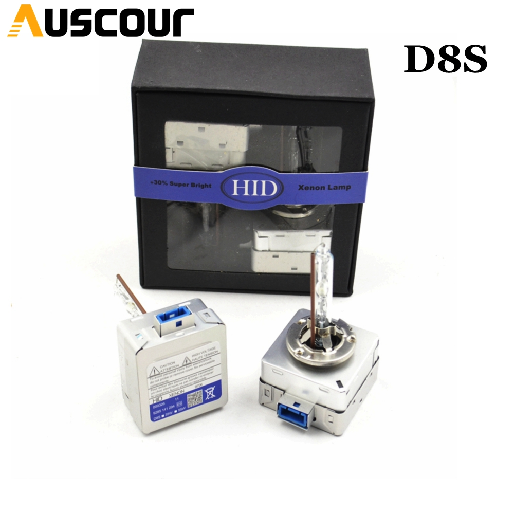 D8S hid xenon bulb metal holder 35W 55W car styling hid bulbs for headlight high intensity