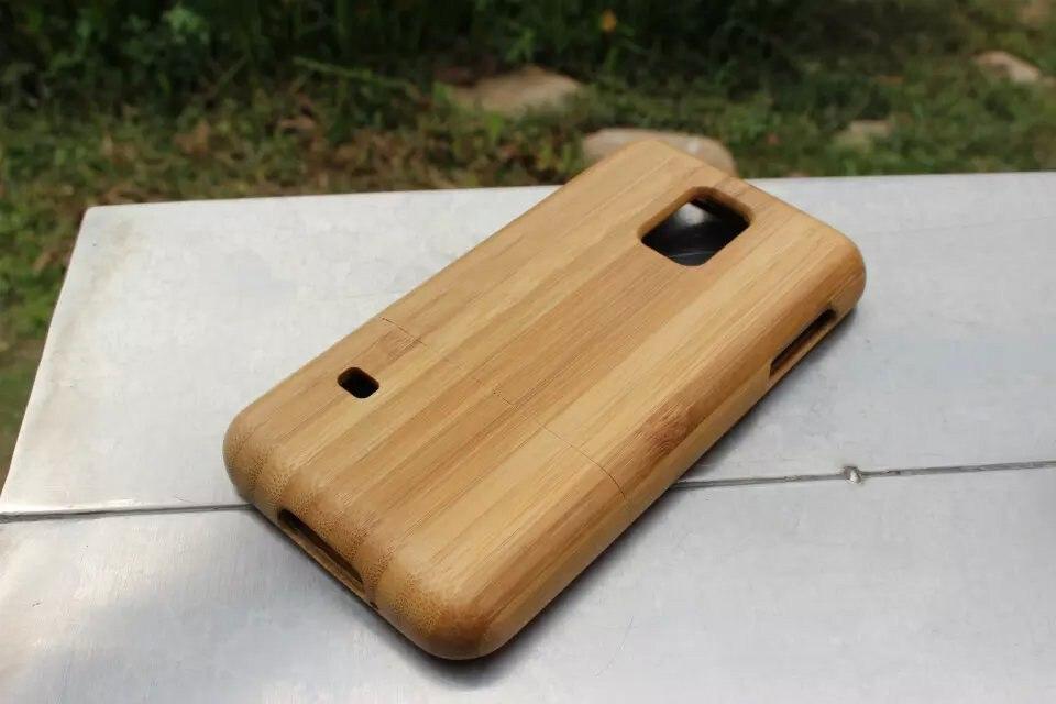 100%ไม้แท้caseสำหรับsamsung galaxy s5 mini g800ไม้ไผ่ที่ทำด้วยมือไม้caseจัดส่งฟรี