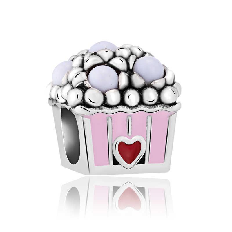 """Популярные модные туфли со звездами с кристаллами и цветами Подвески-шармы с Микки Маусом Пандора браслеты """"сделай сам"""" для женщин, ювелирные изделия для девочек"""