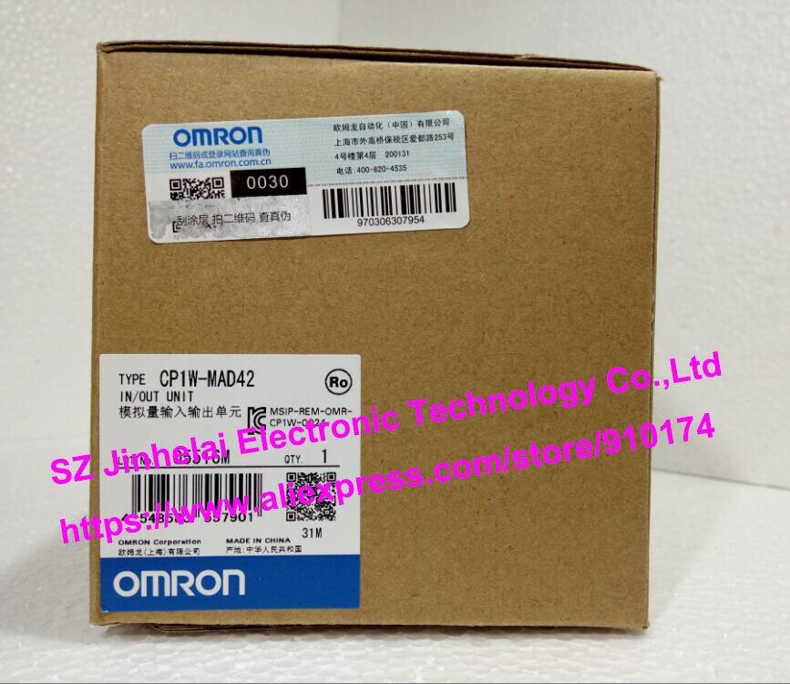 Новое и оригинальное CP1W MAD42 omron plc аналоговый вход/выход блока