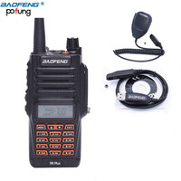 Baofeng UV 9R Plus 8W High Power Walkie Talkie UHF VHF Dual Band IP67 Waterproof BF