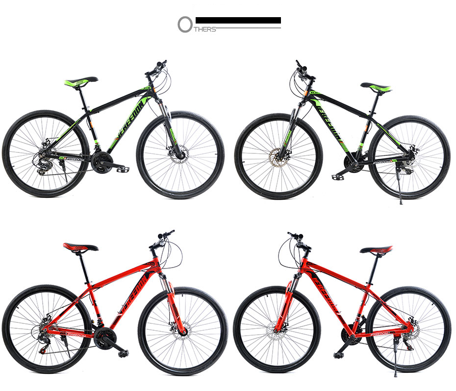 HTB1DfNTk XYBeNkHFrdq6AiuVXa7 Love Freedom 21/24 Speed Aluminum Alloy Bicycle  29 Inch Mountain Bike Variable Speed Dual Disc Brakes Bike Free Deliver