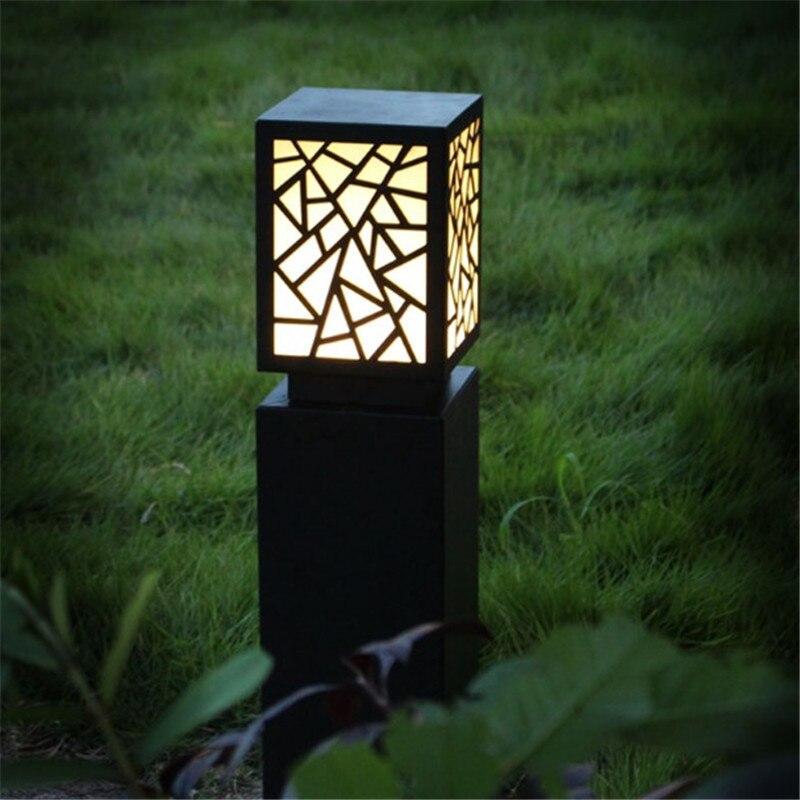 lampada de parede ao ar solar rua luz pir jardim 04