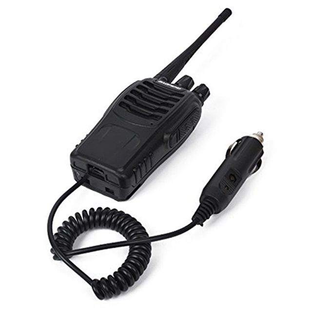 Baofeng 888S walkie talkie eliminator car charger Battery Case Eliminator Baofeng bf 888s Car Charger For BF 888S H 777 H777 666
