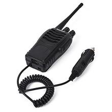 Baofeng walkie talkie 888S, eliminador de cargador de coche, caja de batería, cargador de coche Baofeng bf 888s para BF 888S H 777 H777 666