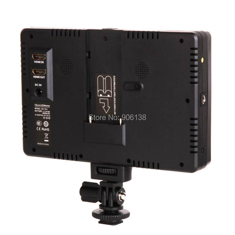Viltrox 7 '' DC-70II түсті түсті TFT HD LCD монитор - Камера және фотосурет - фото 5