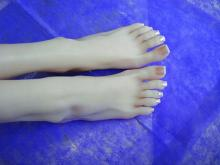 Female foot fetish model simulation model