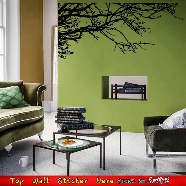 Henna Tree Branch Wall Stickers For Living Room Decoration Wall